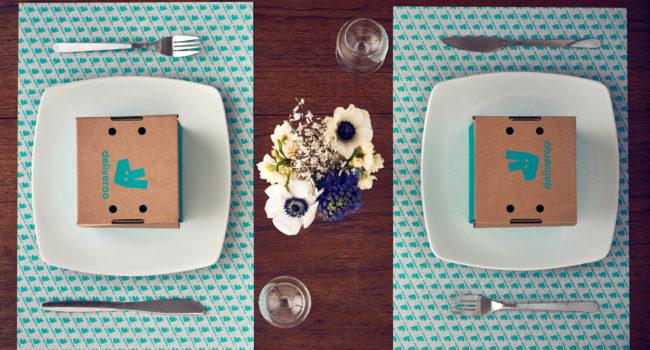 Eerste experiment om lekker eten thuis te brengen in herbruikbare verpakkingen