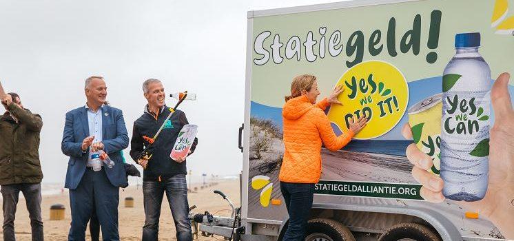 Statiegeldalliantie roept Belgische regeringen op Nederlands statiegeld te volgen